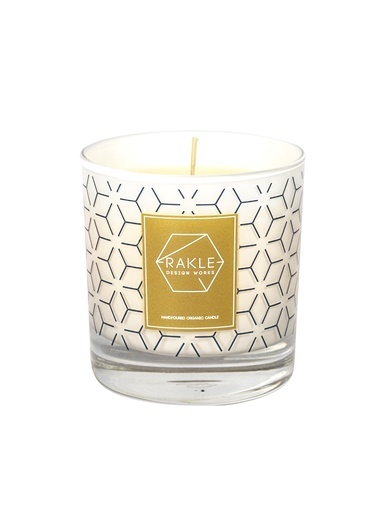 Rakle 210 gr Dot Vegetable Candle Beyaz